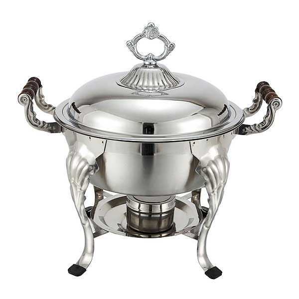 Winco Crown Chafer 6 Quart Round - 708