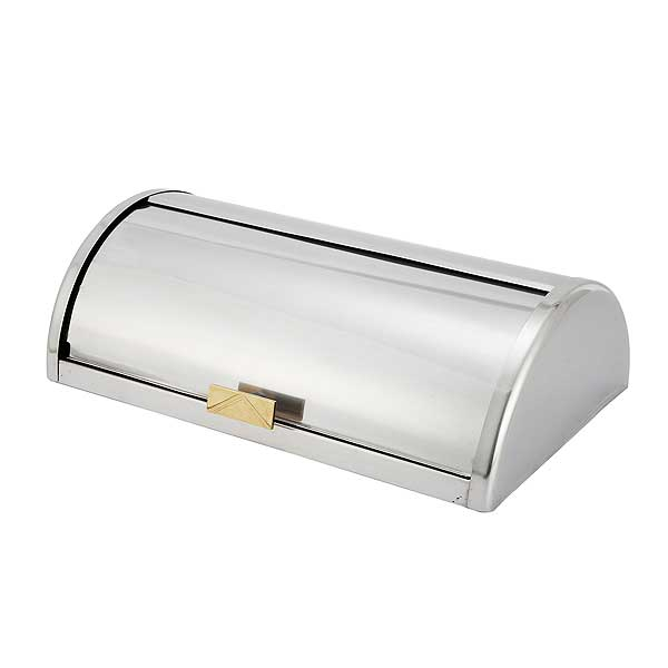 Winco Roll-Top Cover For C-5080 Stainless Steel - C-RTC