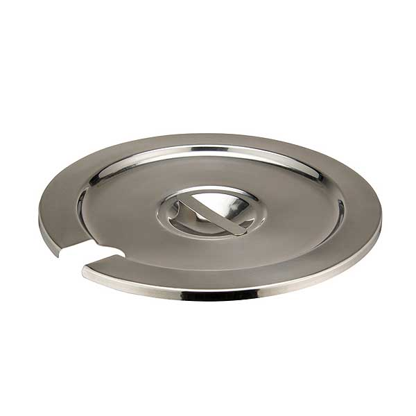 Winco Inset Cover For 7 Quart (INSN-7) Heavy Weight Stainless Steel - INSC-7M