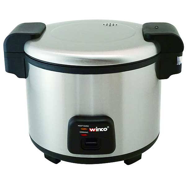 Winco Rice Cooker Electric 30 Cup Uncooked Rice Capacity (60 Cups Cooked) - RC-S300
