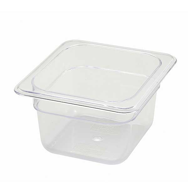 """Winco Poly-Ware Food Pan 1/6 Size 6-3/4"""" X 6-1/4"""" - SP7604"""