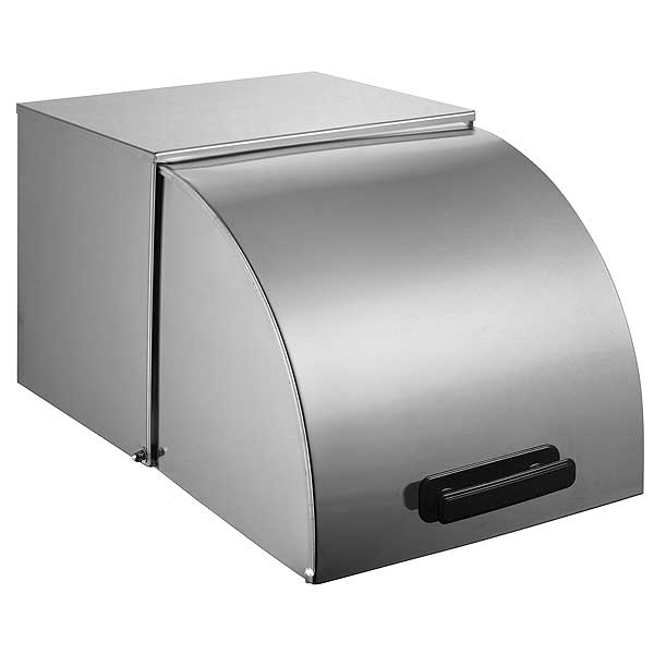 """Winco Roll-Top Cover 20-3/4""""L X 13""""W X 11-7/8""""H For Full-size Steam Table Pans And Standard Size Food Warmers/cookers - C-RCF"""