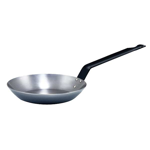 Winco CSFP Steel French-Style Fry Pans