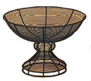 American Metalcraft Wire Pedestal Baskets